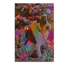 Merry Christmas Mixed Bre Postcards (Package of 8)