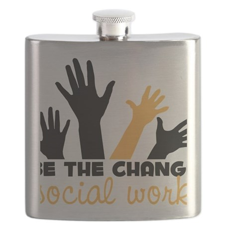 BeThe Change Flask