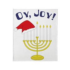 Oy, Joy! Throw Blanket