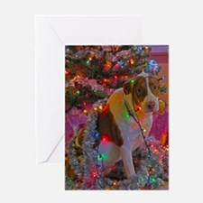 Merry Christmas Mutt Greeting Card