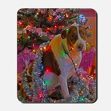Merry Christmas Mutt Mousepad