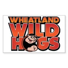Wheatland Wild Hogs Decal