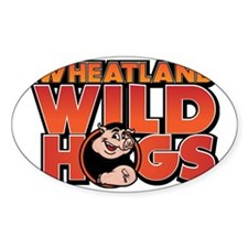 Wheatland Wild Hogs Decal