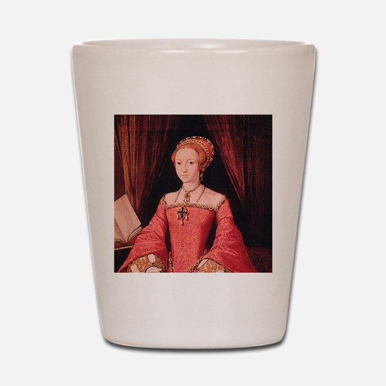 Elizabeth I Shot Glass