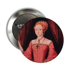 "Elizabeth I 2.25"" Button"