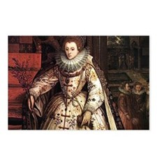 Elizabeth I Postcards (Package of 8)