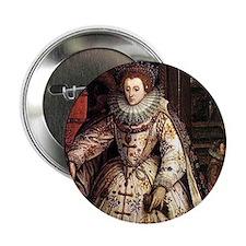 """Elizabeth I 2.25"""" Button"""