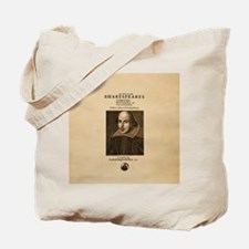 Shakespeare First Folio Tote Bag