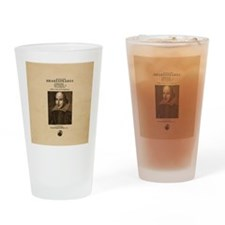 Shakespeare First Folio Drinking Glass