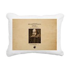 Shakespeare First Folio Rectangular Canvas Pillow