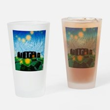 Stonehenge Drinking Glass