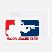 Major League Kafir Greeting Card