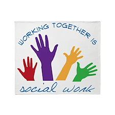 Social Work Throw Blanket