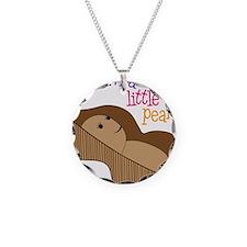 Little Peanut Necklace Circle Charm