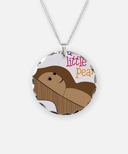 Little Peanut Necklace Circle Charm