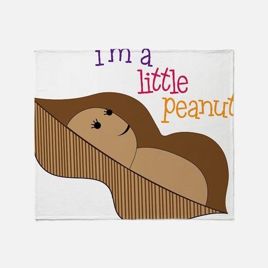 Little Peanut Throw Blanket