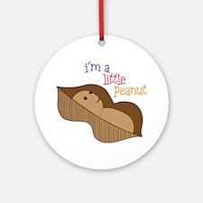 Little Peanut Round Ornament