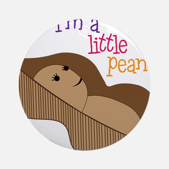 Little Peanut Round Ornament