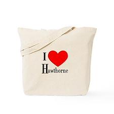 I Love Hawthorne Tote Bag