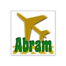 "Abram Square Sticker 3"" x 3"""