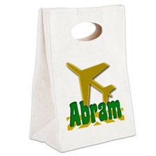 Abram Canvas Lunch Tote