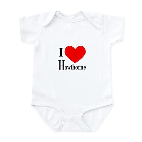 I Love Hawthorne Infant Bodysuit