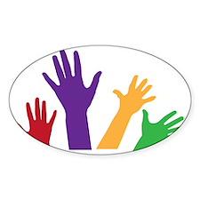 Hands Decal