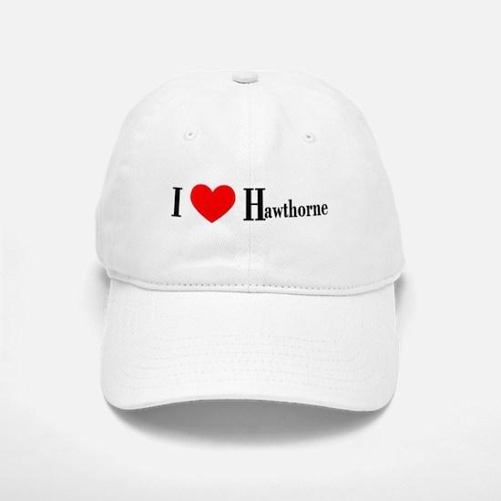I Love Hawthorne Baseball Baseball Cap