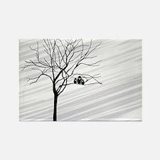 t-shirt men_826_H_F_Winter Tree2 Rectangle Magnet