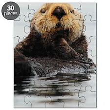 Alaskan Sea Otter Galaxy Puzzle