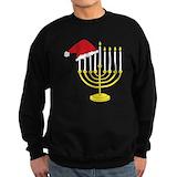 Jews for santa Sweatshirt (dark)
