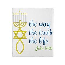John 14:6 Throw Blanket