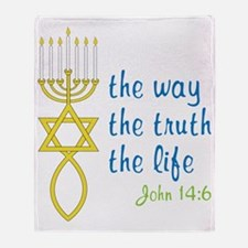John 14:6 Throw Blanket