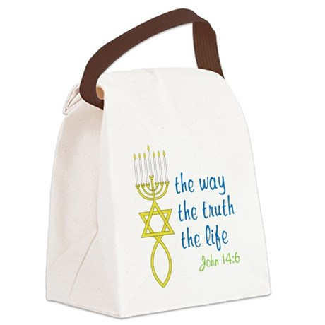 John 14:6 Canvas Lunch Bag