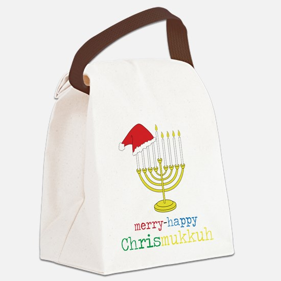Chrismukkuh Canvas Lunch Bag