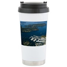 Aerial View of Sydney B Travel Mug