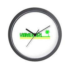 Lanikai Beach, Hawaii Wall Clock