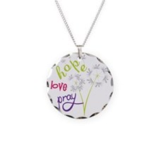 Hope Love Pray Necklace