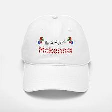 Mckenna, Christmas Baseball Baseball Cap