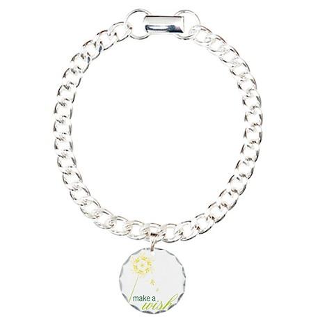 Make A Wish Charm Bracelet, One Charm