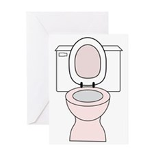 Potty Greeting Card