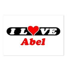 I Love Abel Postcards (Package of 8)