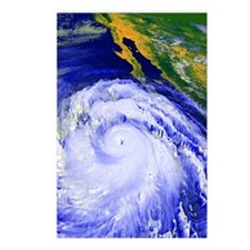 Coloured satellite image  Postcards (Package of 8)
