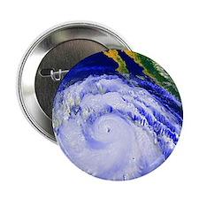 "Coloured satellite image of Hurricane 2.25"" Button"