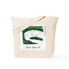 """Green Ideas"" Tote Bag"