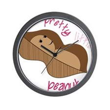 Pretty Little Peanut Wall Clock