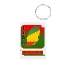 Grenada Wear It Proud Keychains