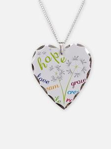 Dandelion Hope Necklace