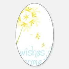 Wishes Sticker (Oval)