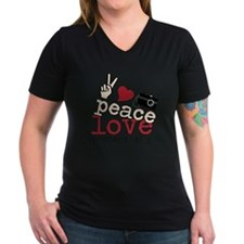 Peace Love Photography Shirt